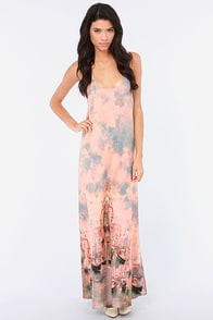 Venice to Meet You Print Maxi Dress at Lulus.com!