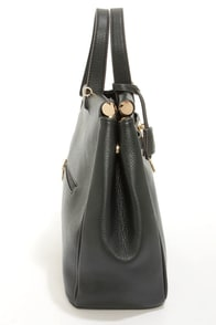 Under Lock and Key Black Purse at Lulus.com!