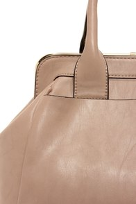 It's a Snap Taupe Handbag at Lulus.com!