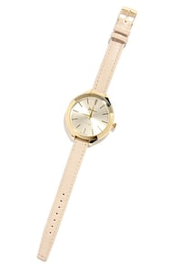A Matter of Time Cream Watch at Lulus.com!