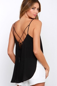 To Tie For Black Top at Lulus.com!