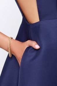 Linking Out Loud Gold Bracelet at Lulus.com!