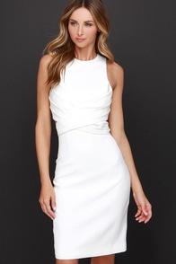 Cameo Trails Ivory Midi Dress at Lulus.com!