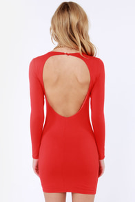 LULUS Exclusive Open Invitation Backless Red Dress at Lulus.com!