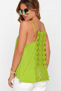 Others Follow Charisse Chartreuse Top at Lulus.com!