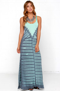 Others Follow Zen Mint Tie-Dye Maxi Dress at Lulus.com!