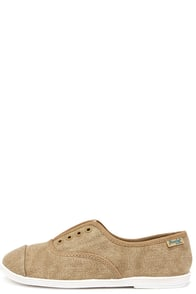 Blowfish Grove Desert Sand Canvas Flats at Lulus.com!