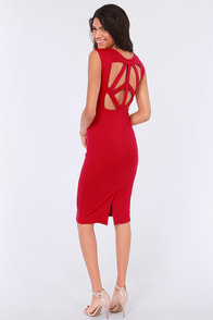 LULUS Exclusive Pretty Committee Backless Red Dress at Lulus.com!