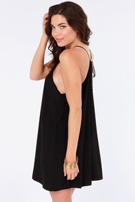 Amour the Merrier Black Lace Dress at Lulus.com!