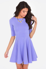 Just a Twirl Lavender Dress