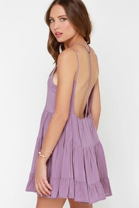 Ruf-filled with Joy Dusty Purple Dress at Lulus.com!