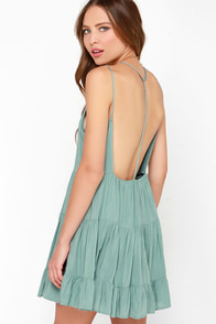 Ruf-filled with Joy Sage Green Dress at Lulus.com!