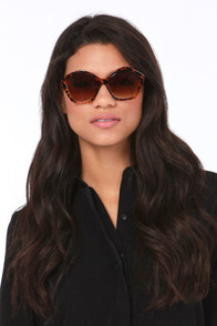Dune Tortoise Sunglasses at Lulus.com!