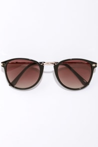 Castro Black Sunglasses