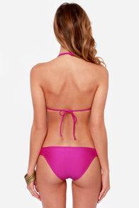 O'Neill Fringe Fuchsia Bikini at Lulus.com!