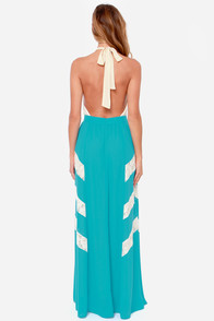 Lead the Sway Blue Lace Maxi Dress at Lulus.com!