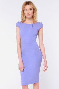 Chic of Nature Lavender Bodycon Dress at Lulus.com!