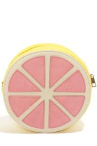 Je Suis Une Pamplemousse Grapefruit Clutch at Lulus.com!