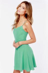 Summer Stroll Mint Dress at Lulus.com!