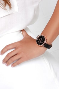 Just a Sec Black Watch at Lulus.com!