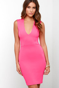 Love the Limelight Hot Pink Dress at Lulus.com!