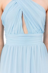 LULUS Exclusive The Ethereal Deal Light Blue Maxi Dress at Lulus.com!