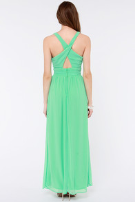 LULUS Exclusive The Ethereal Deal Mint Green Maxi Dress at Lulus.com!