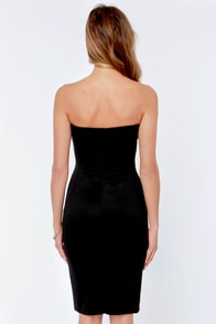 LULUS Exclusive Give Me a Bustier Black Bodycon Dress at Lulus.com!