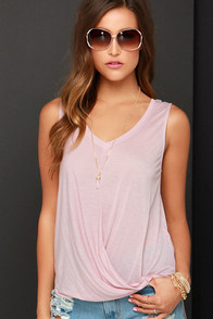 Black Swan Fiji Mauve High-Low Top at Lulus.com!