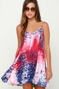 Somedays Lovin' The Call of Daybreak Print Dress at Lulus.com!