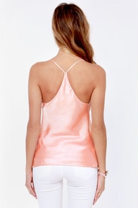 Just My Luxe Light Pink Tank Top at Lulus.com!