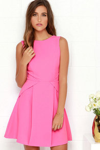 Party Favor Pink Dress at Lulus.com!