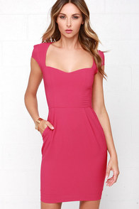 Share the Love Fuchsia Dress at Lulus.com!