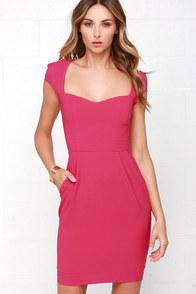 Share the Love Fuchsia Dress at Lulus.com!