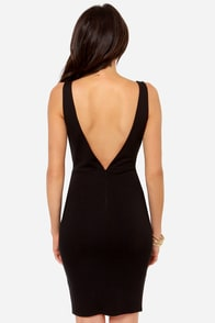 Lady Lovestruck Backless Black Lace Dress at Lulus.com!
