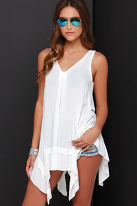 Sun-Shiny Day Ivory Tunic Top at Lulus.com!