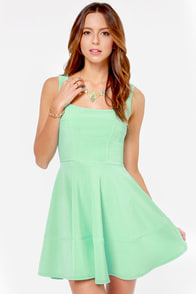 Home Before Daylight Mint Green Dress at Lulus.com!