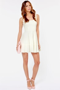 Home Before Daylight Ivory Dress at Lulus.com!