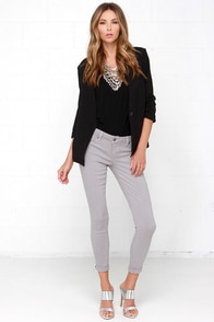 Tractr Modern Myth Grey Skinny Jeans at Lulus.com!