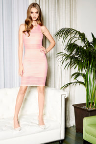 Sweet Dreamsicle Peach Bodycon Dress at Lulus.com!