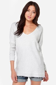 RVCA Lengths Ivory Sweater