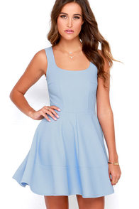Image Home Before Daylight Periwinkle Dress