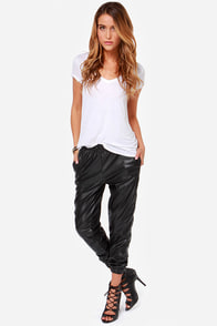 Obey Alter Ego Black Cropped Pants at Lulus.com!
