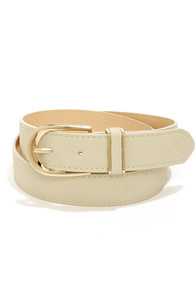 Cinch Along Taupe Belt at Lulus.com!