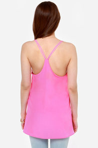 Make It Two Fuchsia Tank Top at Lulus.com!