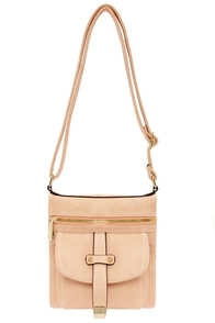 Split Decision Peach Purse at Lulus.com!
