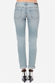 Blank NYC Skinny Classique Distressed Skinny Jeans at Lulus.com!