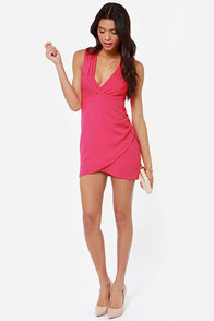 Wild Night Hot Pink Dress at Lulus.com!