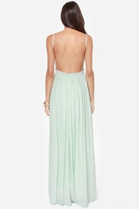 Blooming Prairie Crocheted Mint Maxi Dress at Lulus.com!