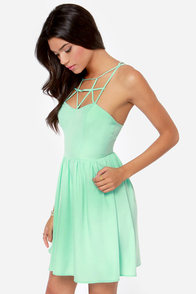Got the Hots Mint Green Dress at Lulus.com!